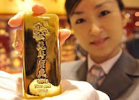 Chinese gold bar