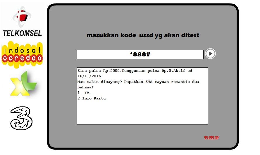 kode rahasia kouta 3 kode ussd menambah kuota 3 secara