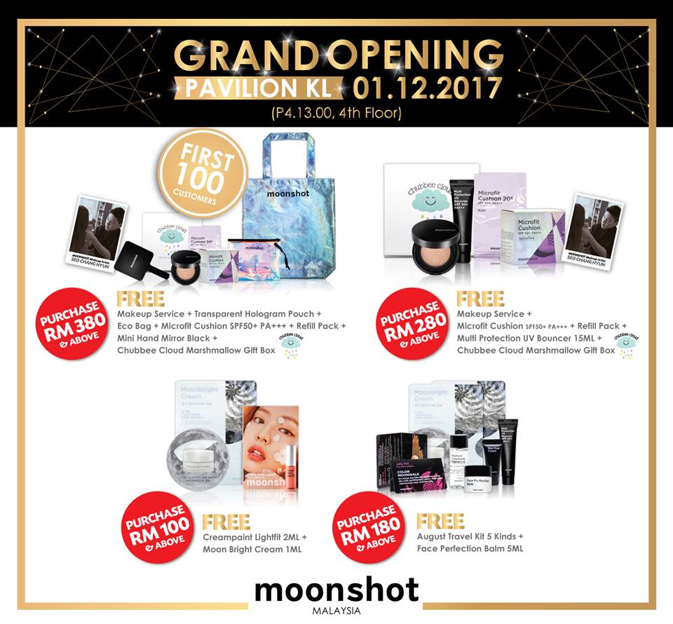 Gokpop malaysia moonshot malaysia giveaway purchase for 17th floor concert schedule