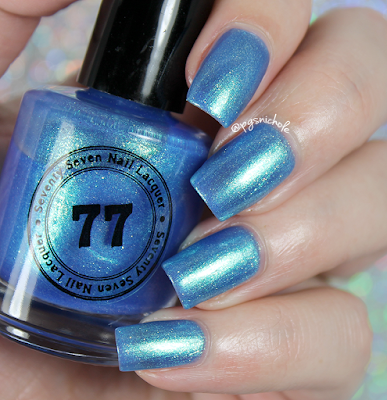 Seventy Seven Nail Lacquer I'll Drink to That | Springtime Small Batches