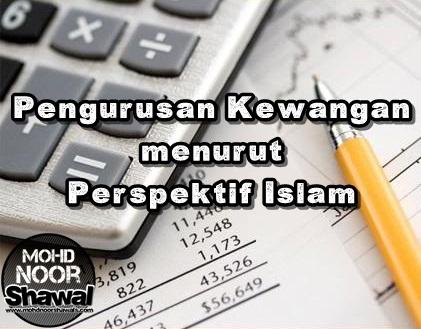 Pengurusan Kewangan menurut Perspektif Islam