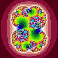 Julia set (C = 0.285,_0.01) a fractal set