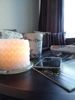 oma koti, sisustus, kynttilät, syksy