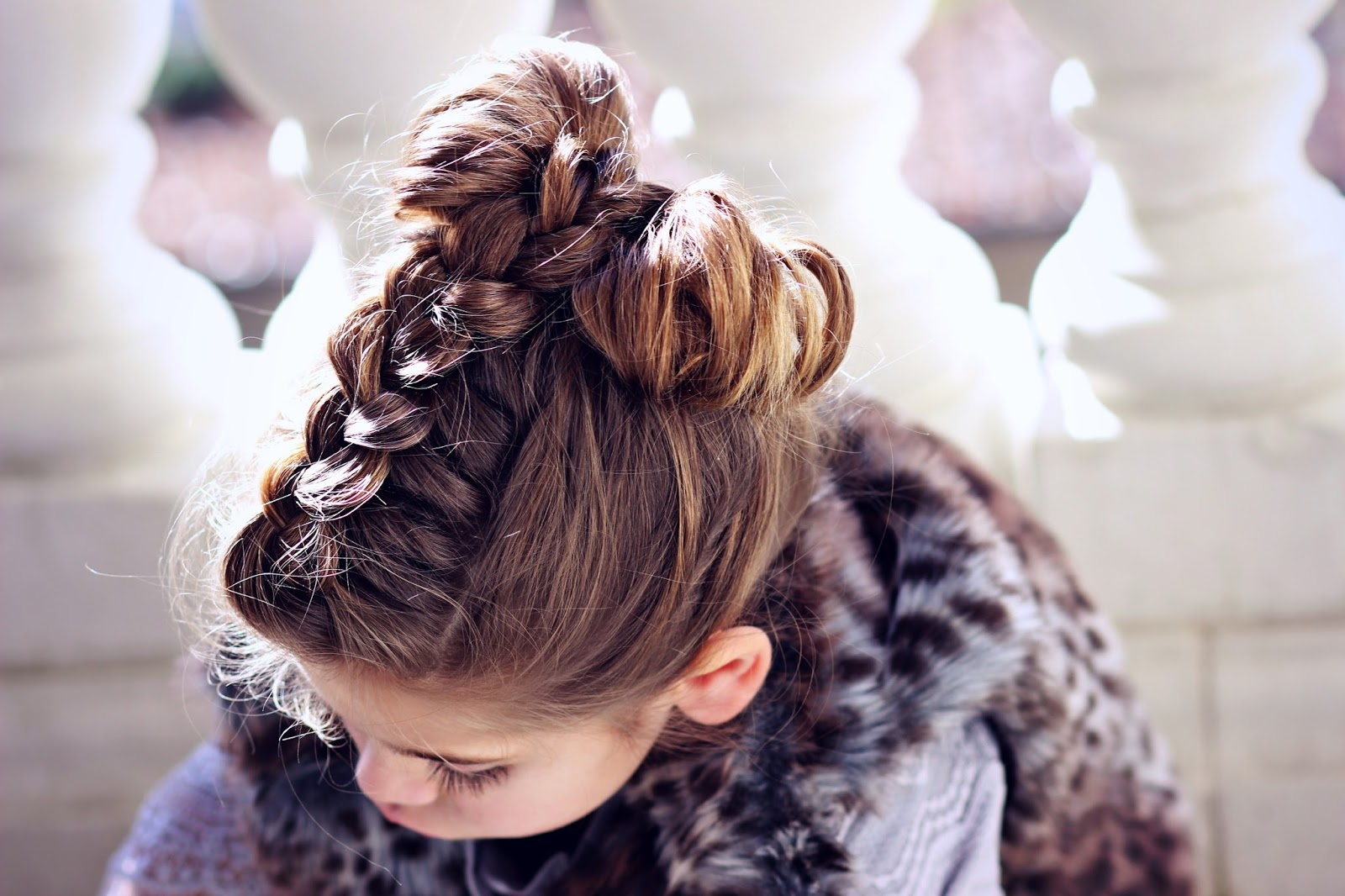 Feeling cozy in petite adele plus hair tutorial a lil bit fancy how to make a hair bow with braid baditri Image collections