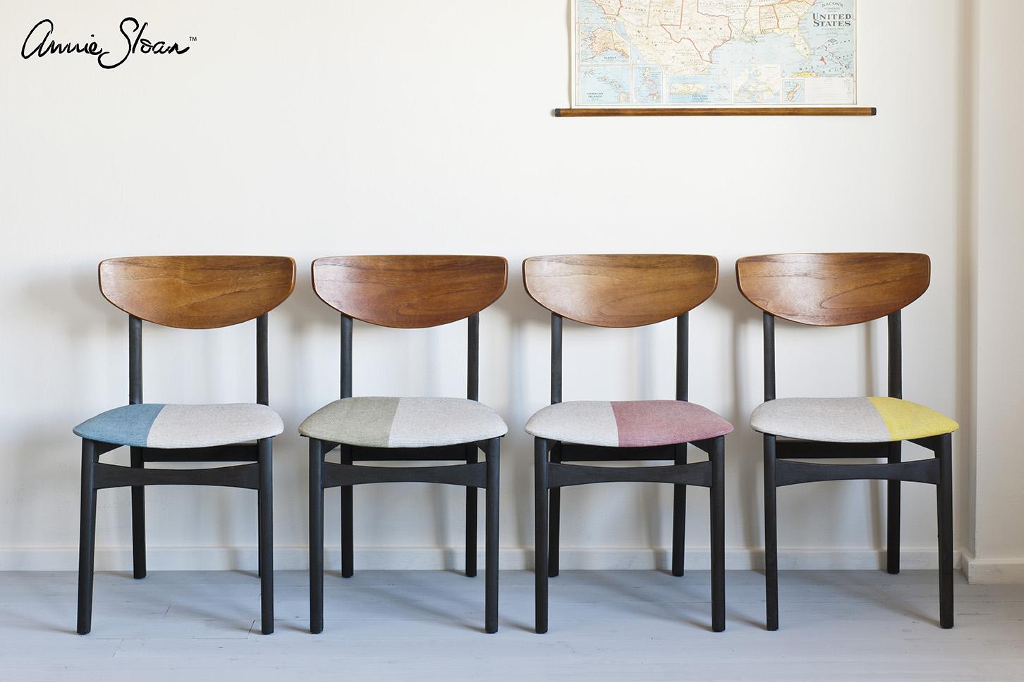 Annie Sloan  Paint & Colour: Mid-Century Modern Chairs