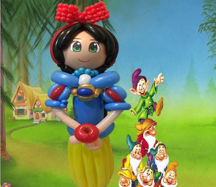 氣球白雪公主