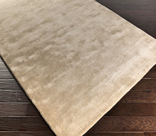bamboo silk custom carpets in solid color with soft feel and shine