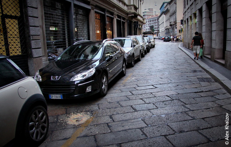 блевотина в Милане