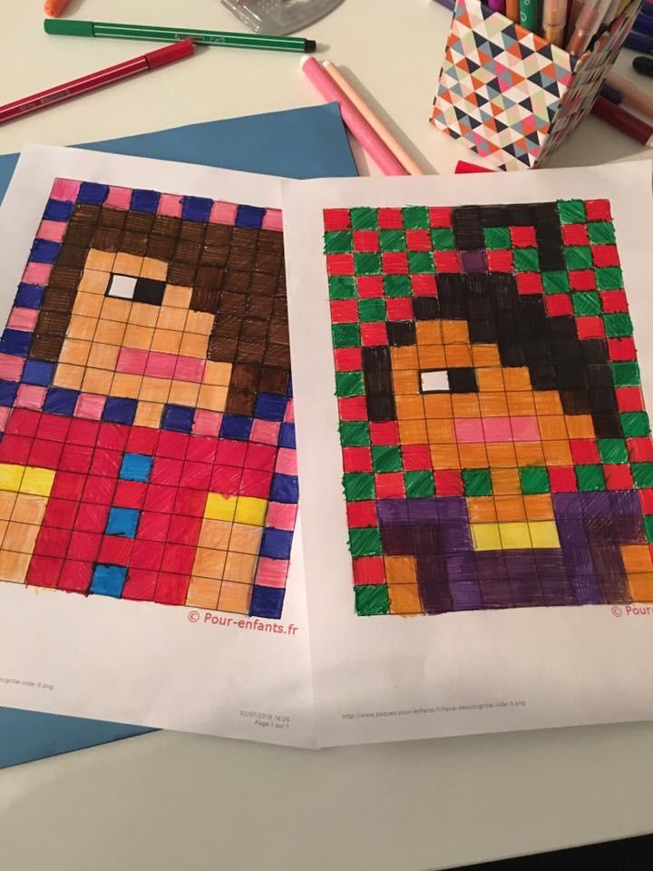 Instruction En Folie Pixel Art