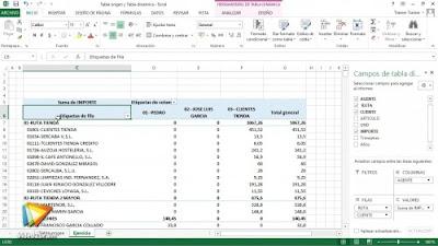 Curso Tablas dinámicas con Excel 2013