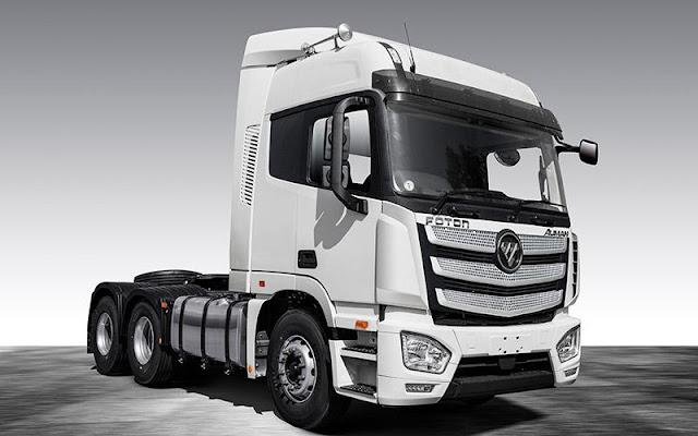 Dòng xe tải hạng nặng và hạng trung AUMAN EST và EST-M