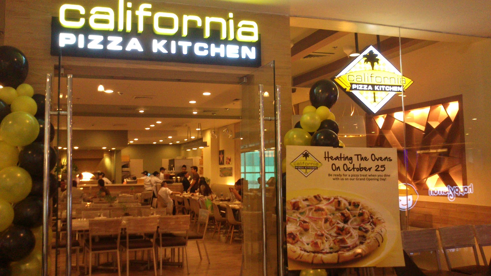 California Pizza Kitchen in Binondo!