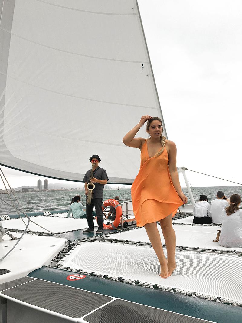 barcelona orsom, sailing adventure, barcelona tourism