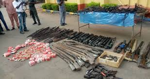 gun-making factory in Ebonyi