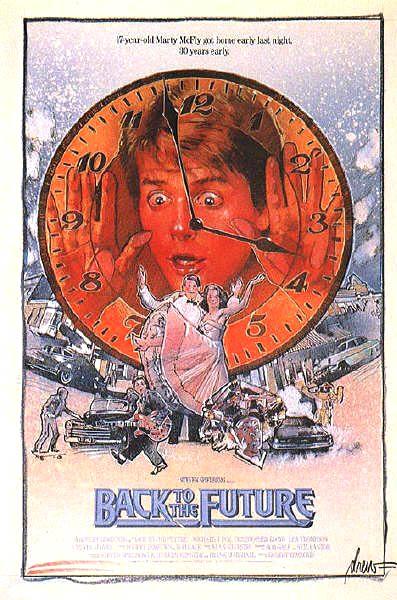 Regreso al futuro Poster Drew Struzan 3