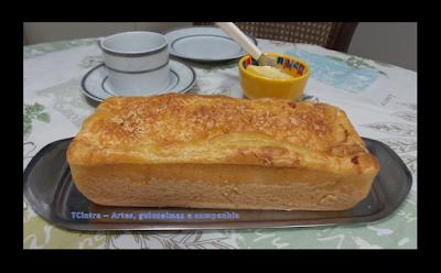 pão de liquidificador; receita de liquidificador; pão caseiro; receita para café da manhã
