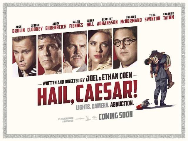 """Resultado de imagem para Hollywood """"Ave, César""""."""