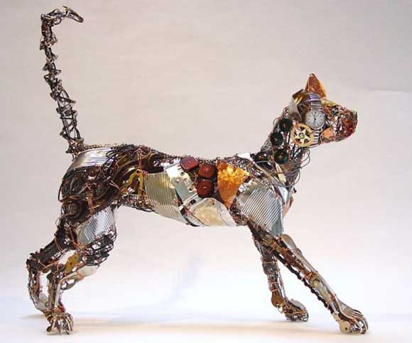how to create an animal sculpture