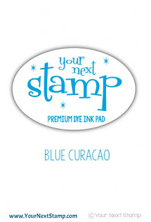 Premium Dye Ink Pad Blue Curacao