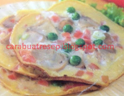 Foto Resep Omelet Telur Jamur Sederhana Spesial Asli Enak