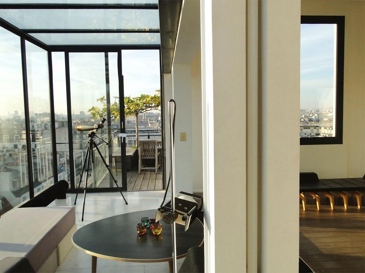 loft connexion by samuel johde sur les toits de paris loft paris 10e. Black Bedroom Furniture Sets. Home Design Ideas