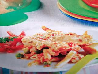 Gambar Resep Pasta Penne Ayam Panggang
