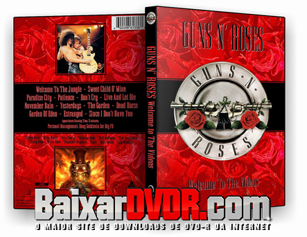Guns And Roses: Welcome To The Videos (1998) DVD-R Oficial