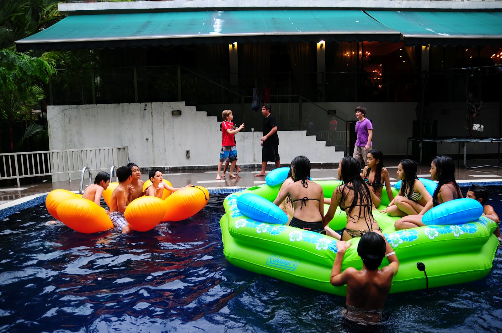Adult pool party themes consider