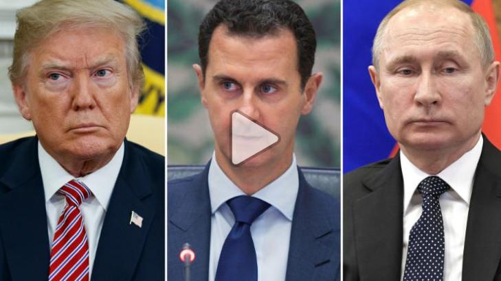 برحيل بريس Berhil press - Une décision syrienne n'avait pas été prise quand Trump tweeted missiles'will be coming'.  Kevin Liptak-Profile-ImageCNN EXPANSION DC 2017 Kaitlan Collins