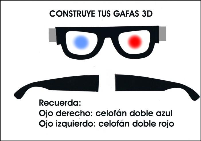 Manual del científico: Gafas anaglifos en 6º B