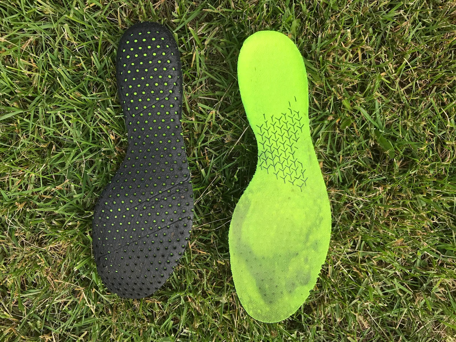 Which Shoe Liners Have The Rubber No Slip Heel