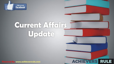 Current Affairs Updates - 31 October 2017