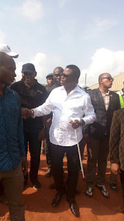 ANAMBRA ELECTION: OBIANO VOTES, COMPLAINS ABOUT FAILING CARD READERS