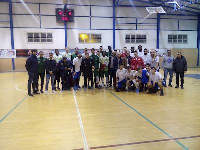 El CB Cazorla vence al CB Andújar en el Torneo de Reyes de Villanueva de la Reina