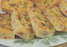 Рецепт приготовления на дому запеканки с ветчиной и перцем