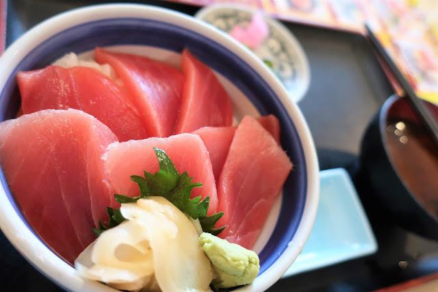 ハウステンボス 牧原鮮魚店 マグロ丼