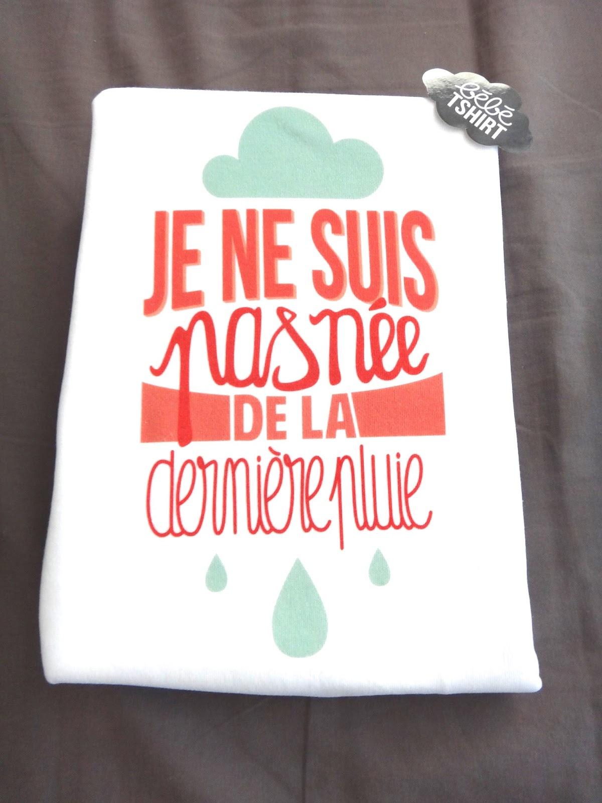 Né De La Dernière Pluie : dernière, pluie, Ordinaire, D'une, Bretonne:, Boite, Lettres, Tshirt, Bébé, {CONCOURS}