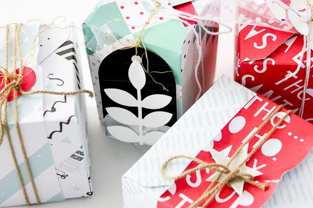 5 Minuten Geschenkbox mit Punch Board (+ Video) | Janna Werner
