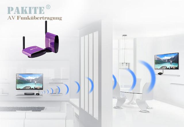 Drahtloser IR-Fernbedienung TV-Funkübertragung