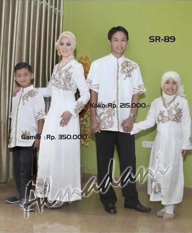 Model Baju Muslim Seragam Keluarga Modern Terbaru