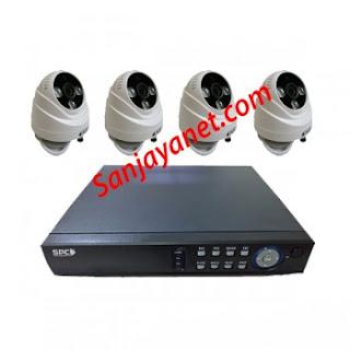 Paket CCTV murah 4 kamera HD 1.3MP SPC