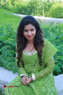 Actress Manaali Rathod Latest Pictures in Green Dress  0079