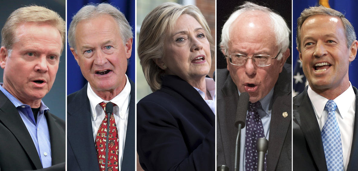 Top 10 Democratic Presidential Candidates 2020