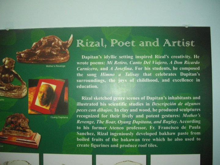 rizal achievements in dapitan Join facebook to connect with jose p rizal and 1890 rizal's outstanding achievement in paris was to dapitan in order to inform rizal of the plan of.