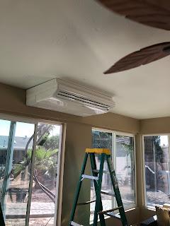 Midea wall / Ceiling mini split