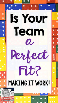 SLPs- How to Team Up For Success. Making your Work Life Easier and Happier. www.speechsproutstherapy.com