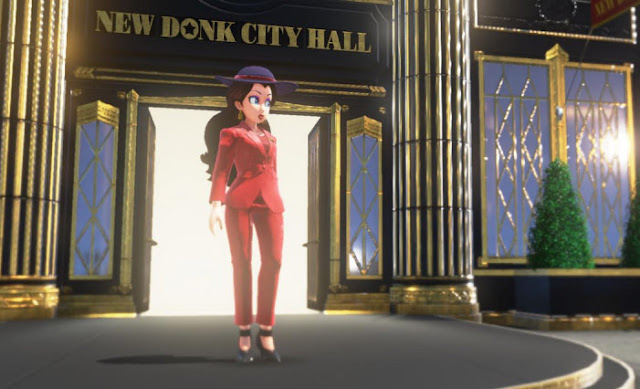 Mayor Pauline in New Donk City