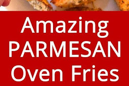 Oven Baked Garlic Parmesan Potato French Fries Recipe