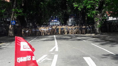 University Students Protest march in Colombo against SAITM Campus