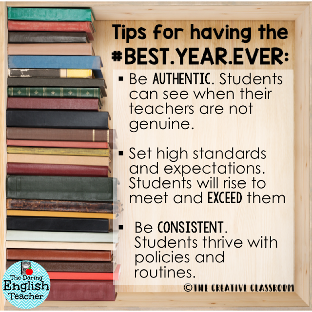 Back to school tips for the new school year. Make the new year memorable and amazing!